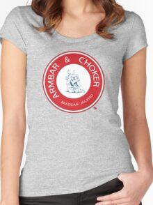 Armbar & Choker BJJ Women's Fitted Scoop T-Shirt