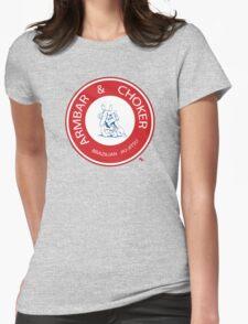 Armbar & Choker BJJ Womens Fitted T-Shirt