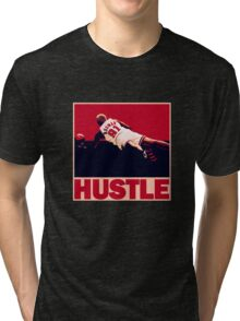 The Worm: Hustle Tri-blend T-Shirt
