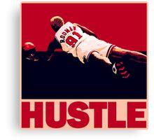 The Worm: Hustle Canvas Print