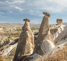 Fairy Chimneys and the Argos Volcano by Robert Kelch, M.D.