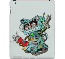 Human warrior robot iPad Case/Skin