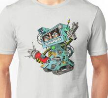 Human warrior robot Unisex T-Shirt