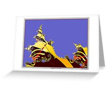 Temples To The Sun Greeting Card