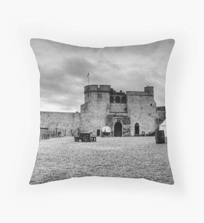 King John's Throw Pillow