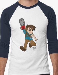 Ash Time Men's Baseball ¾ T-Shirt
