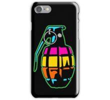 Color grenade iPhone Case/Skin