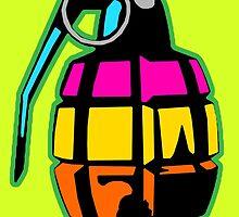 Color grenade by tuncdindas