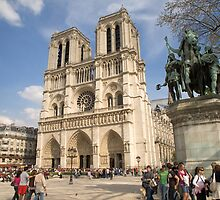 Notre Dame Cathedral, Paris by Andrew Duke