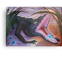 Flower Eater Canvas Print