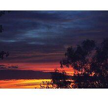 Blue Sunrise Photographic Print