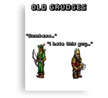Old grudges Canvas Print