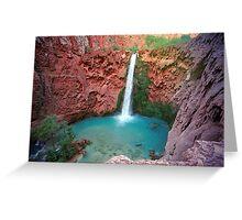 Moony Falls Greeting Card