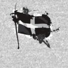 Kernow Flag by mikepom