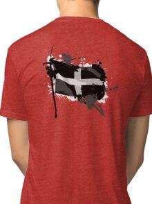 Kernow Flag Tri-blend T-Shirt