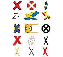 Mutant Alphabet Photographic Print