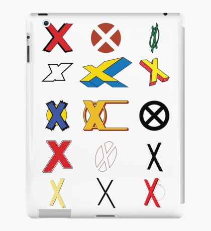 Mutant Alphabet iPad Case/Skin