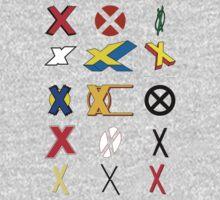 Mutant Alphabet One Piece - Long Sleeve
