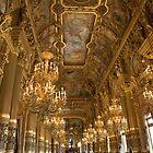 Interior of the Palais Garnier, the Paris Opera by Andrew Duke