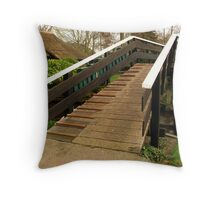 Welcome to our homes... Throw Pillow