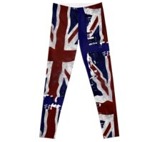 Patriotic Union Jack, UK Union Flag, British Flag Leggings