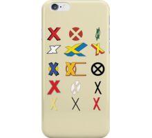 Mutant Alphabet iPhone Case/Skin