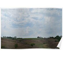 Rolling Hills of Kentucky Poster