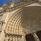 Notre Dame Cathedral, Paris, France by Andrew Duke