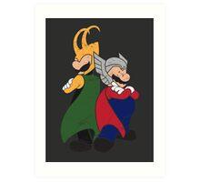 Super Norse Bros Art Print
