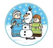 Frozen LEGO by jonenglish