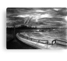 Windows of Desolation Canvas Print