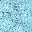 Blue Harmony by Lozzar Flowers & Art