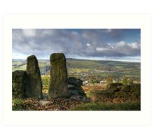 Curbar Gap - The Peak District Art Print