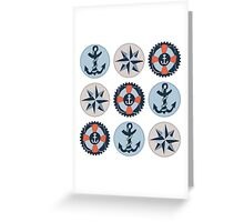 Nautical Adventures: Icons Greeting Card