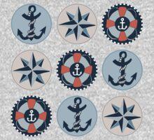 Nautical Adventures: Icons Kids Clothes