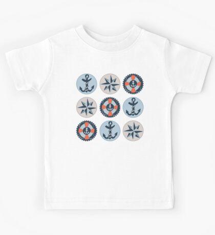 Nautical Adventures: Icons Kids Tee