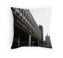 Brunel Bus Station, Slough, Bucks Throw Pillow