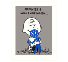 Happiness is ... Art Print