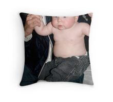 Male Model Throw Pillow