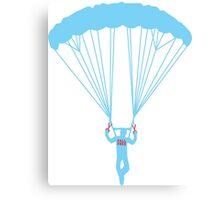 suicide skydive Canvas Print