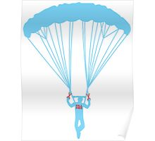 suicide skydive Poster