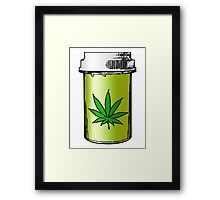 medical marijuana Framed Print