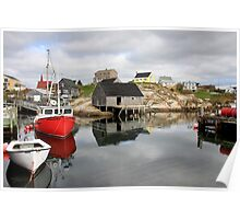 Peggy's Cove - Boats Poster
