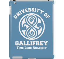 Womens Gallifrey University iPad Case/Skin