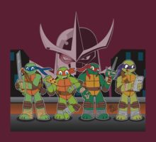 Teenage Mutant Ninja Turtles by DrewBird