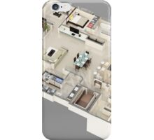 3D Floor Plan Rendering iPhone Case/Skin