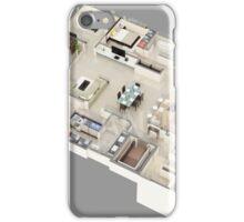 3D Floor Plan Rendering iPhone Case/Skin