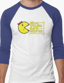 Pac Curves Men's Baseball ¾ T-Shirt