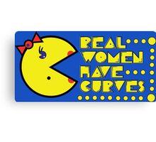 Pac Curves Canvas Print