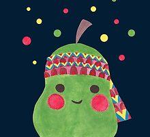Hippie Pear by haidishabrina